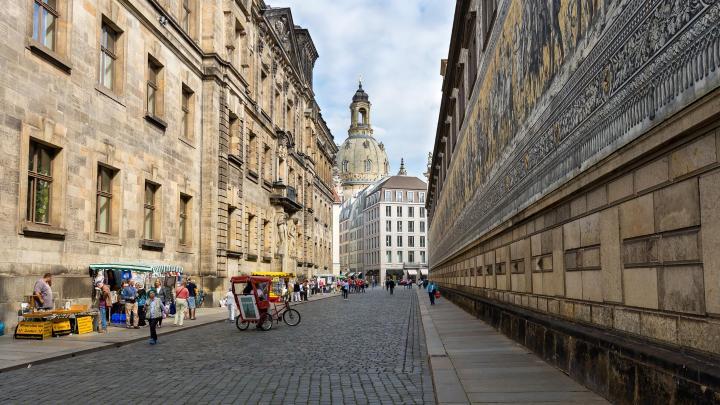 Encuentra el mejor lugar para visitar el centro histórico en Dresde