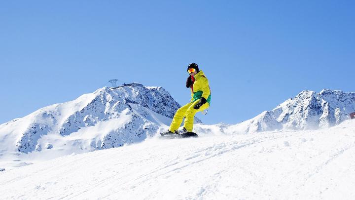 Encuentra el mejor lugar para el snowboard en Sölden