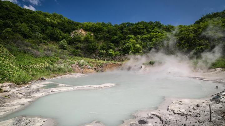 Encuentra el mejor lugar para las aguas termales en Noboribetsu