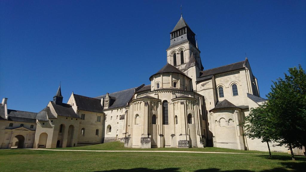 Fontevraud l 39 h tel fontevraud l 39 abbaye france - Hotel abbaye de fontevraud ...
