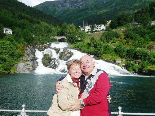 Daniele Grillo e la moglie