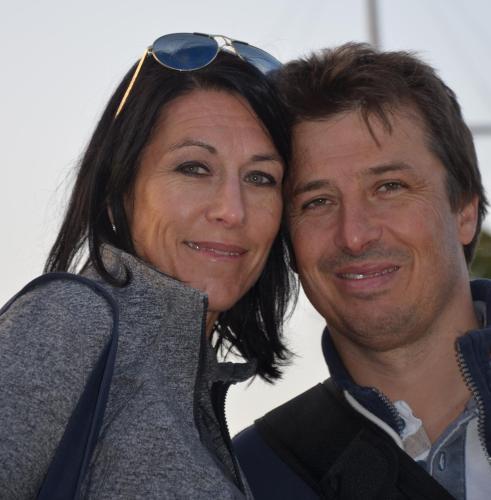 Silvia Nobs und Stefan Tschallener