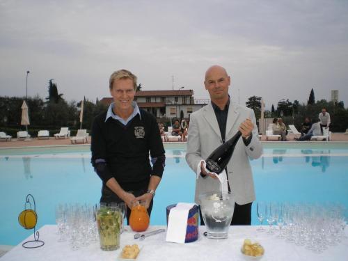 Freddy Gasser e Tiziano Sarto