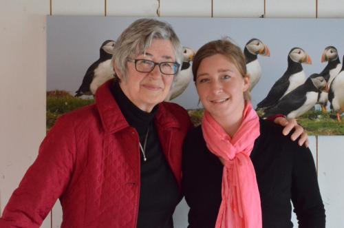Tineke en Marieke Gow, Mother daughter, Property Managers. Owner of Artisan Inn