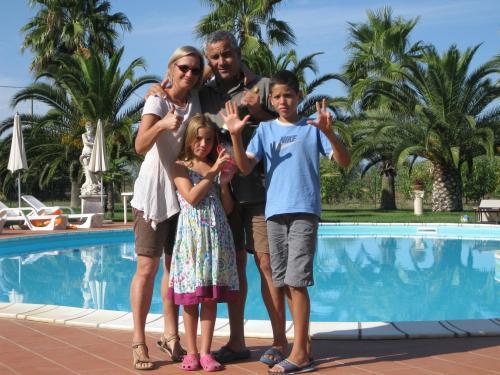 Giuseppe, Silvia, Dominik, Livia