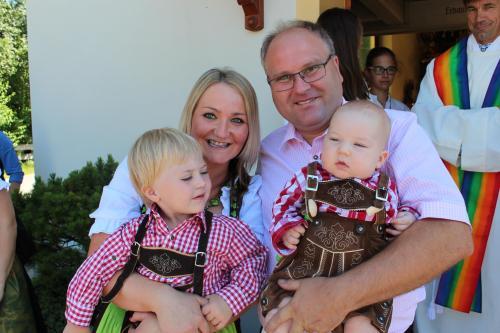 Manuela + Manfred mit Raphael und Julian