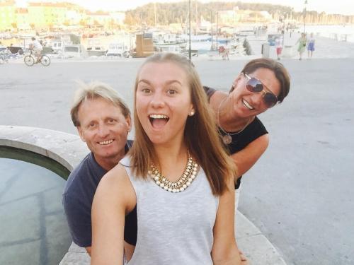 Kurt, Christina und Nina Schernthaner