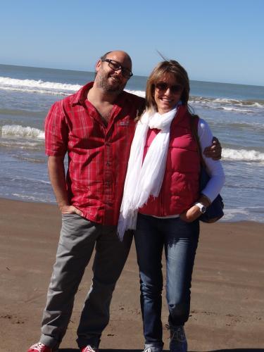 Lorena y Gustavo