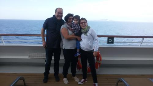 Paolo, Angela, Sabrina ed il piccolo Rocco