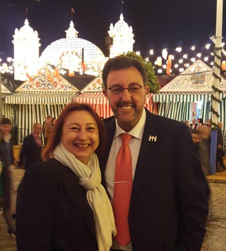Teresa y Javier