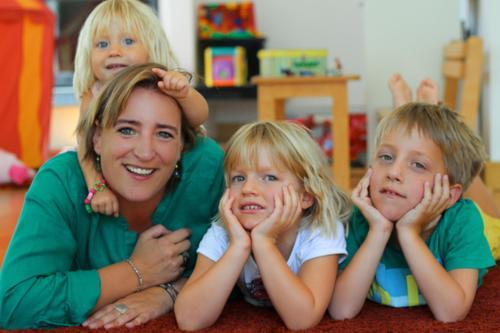 Anke and kids