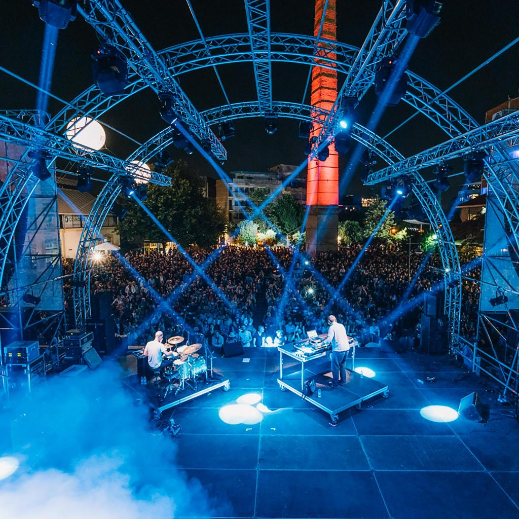 Technopolis – a former gasworks – is now a space for concerts and exhibitions