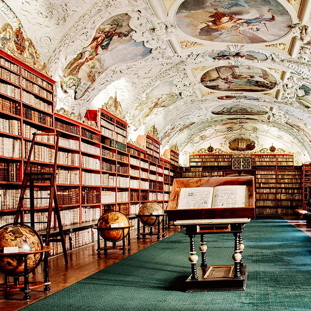 The library has remained unchange since 1722