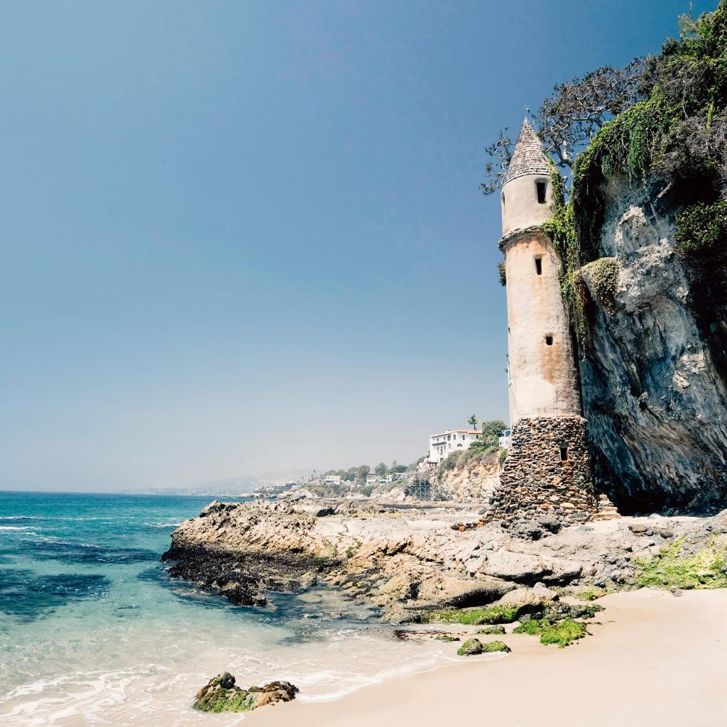 The Pirate Tower at Victoria Beach