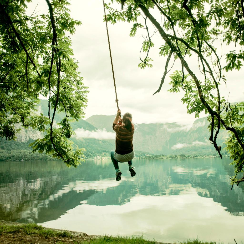 Take a mid-walk swim in a mountain lake in Bavaria