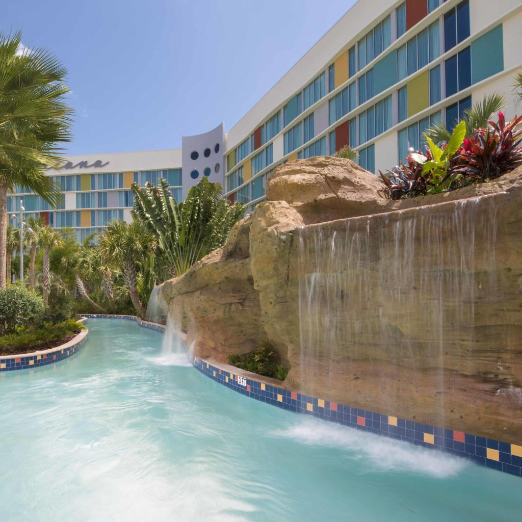 Universal's Cabana Bay Beach Resort in den USA