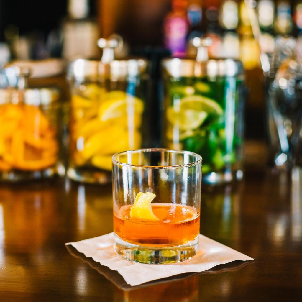 The Sazerac, a potent blend of bitters, absinthe, whiskey and sugar