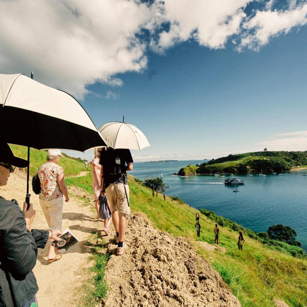 El puerto de Waitemata ofrece un impresionante telón de fondo para los paseos por el mar