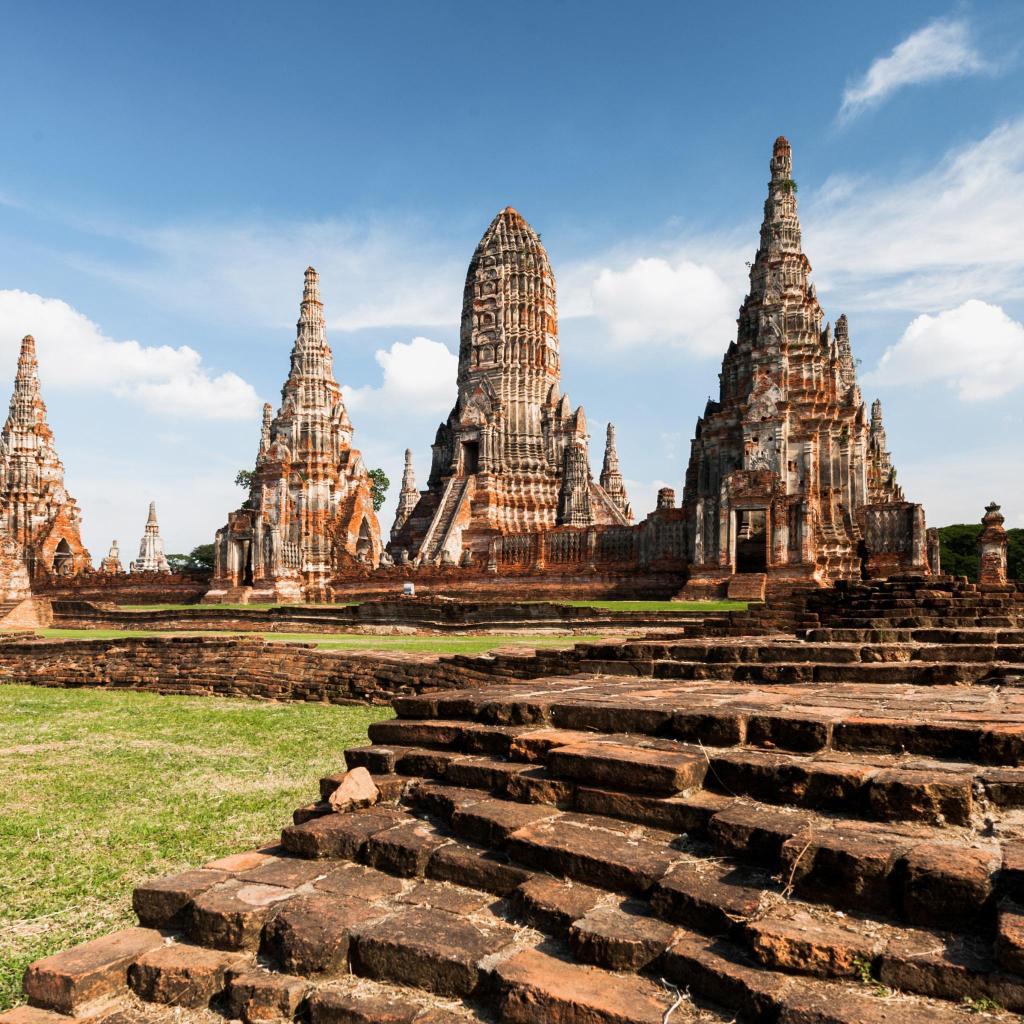 Wat Chaiwatthanaram, an ancient Buddhist temple in Ayutthaya National Park