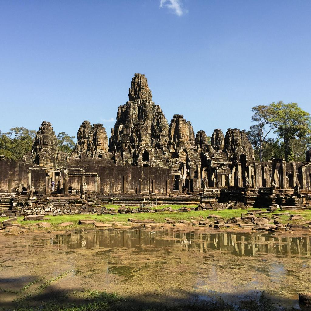 Angkor Wat is a mythical remnant of the ancient Khmer Empire
