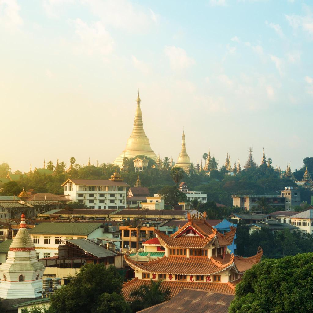 Gloriously opulent, Shwedagon Pagoda is the main landmark of Yangon city