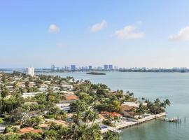 Waterfront apartment with breathtaking views, Miami