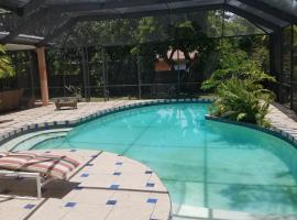 charming suite with pool view, East Perrine