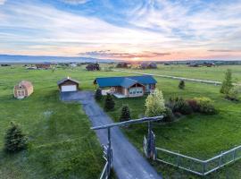Saddlehorn Cabin, Driggs