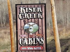 Kiser Creek Cabins, Cedaredge