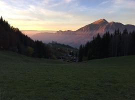 Le Cristal Mont Saxonnex, Mont-Saxonnex