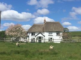 Devon thatched cottage, Crediton