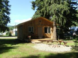 Frontier Cabin at Clearwater Trailer Park, Clearwater
