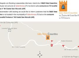 B&B Vista Casentino, Vallombrosa