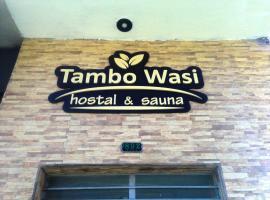 Hostal Sauna Tambo Wasi, Huancayo