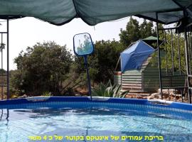 Country lodging in Manot, Manot