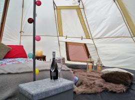 Glamping in Northumberland National Park, Hexham
