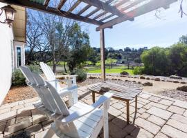 Stunning Private Ranch, Solvang