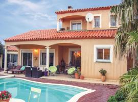 Holiday Home Baixas with Fireplace I, Baixas