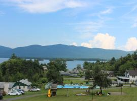Hill View Motel and Cottages, Lake George