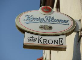 Landgasthof & Hotel Krone, Ichtershausen