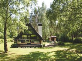 Holiday Home Fjälkinge with Fireplace VI, Ivö