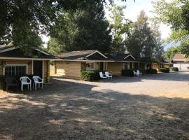 Log Cabin Motel, Ashton