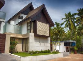 4-BR pool villa, by GuestHouser, Nerul