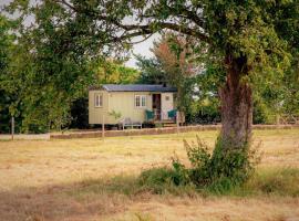 The Abberton Shepherds Hut Retreat, Whitsbury
