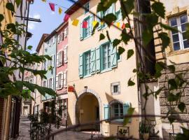 l'Arche des Chapeliers, Foix