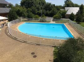 Charmant studio avec piscine, Équemauville