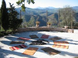 Espiritual house at the mountain, Almogía