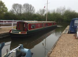 Vinnie - Narrowboat, Bingley