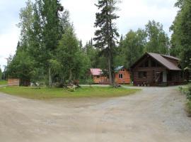 Meandering Moose Cabins, Talkeetna