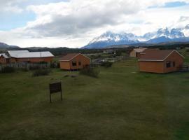 Cabañas Lago Tyndall, Torres del Paine